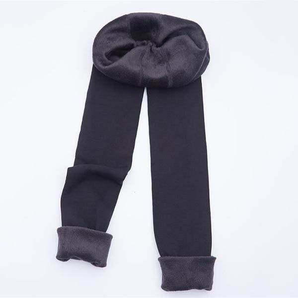 Girly Sales Winter Warm Leggings Gray / S