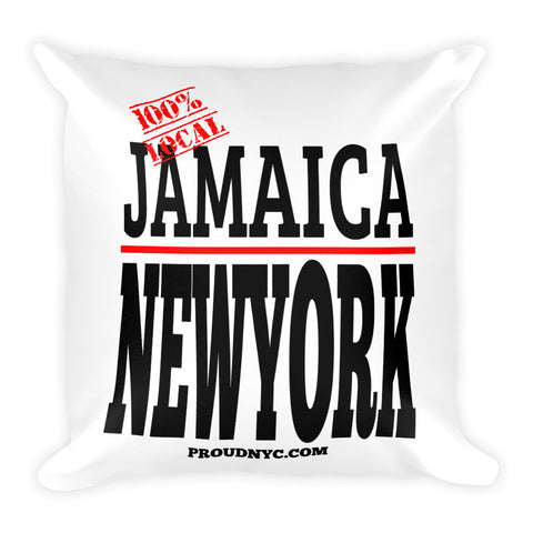 Jamaica Local Square Pillow