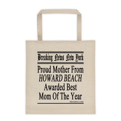 Howard Beach Best Mom Tote bag