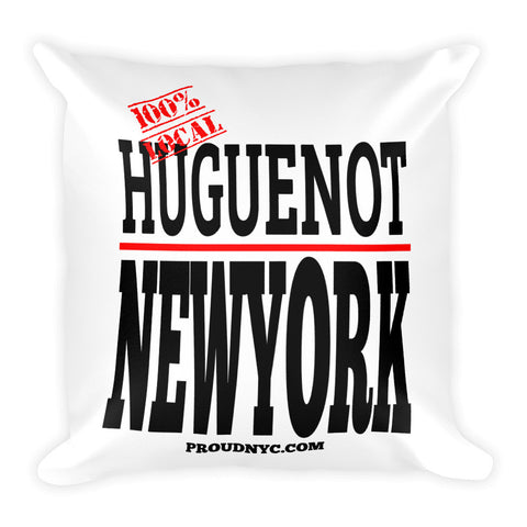 Huguenot Local Square Pillow