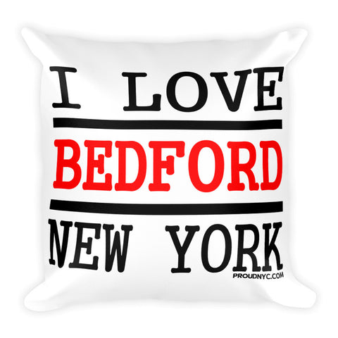 Bedford Love Square Pillow