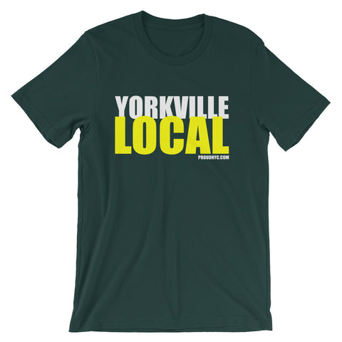 Yorkville Local Unisex short sleeve t-shirt