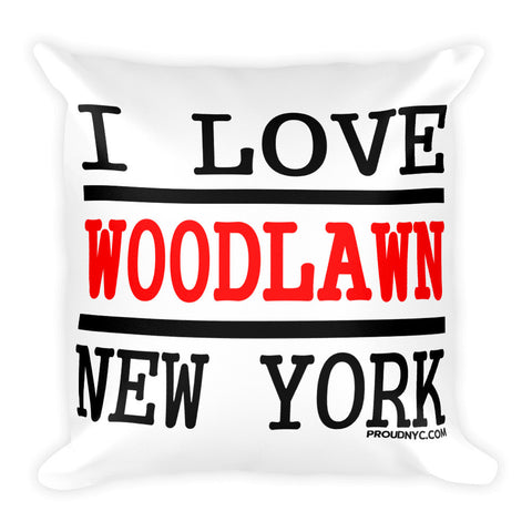 Woodlawn Love Square Pillow