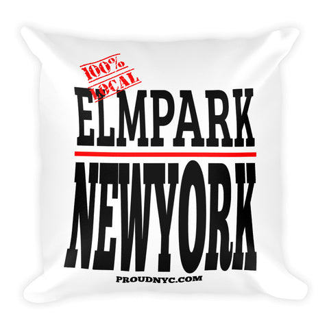 Elm Park Local Square Pillow