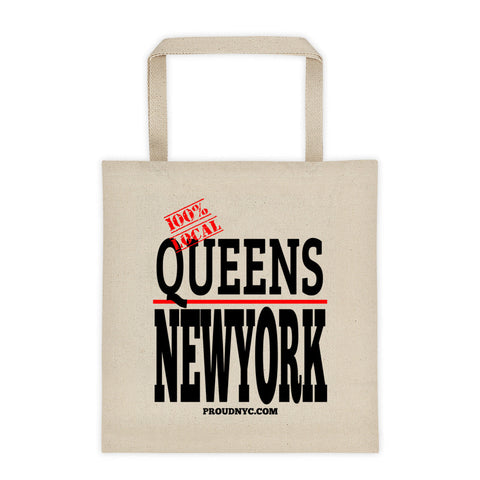 Queens Local Tote bag