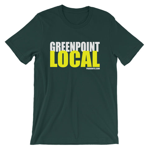 Greenpoint Local Unisex short sleeve t-shirt
