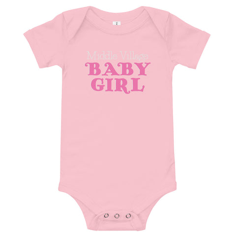 Middle Village Baby Girl Bodysuit