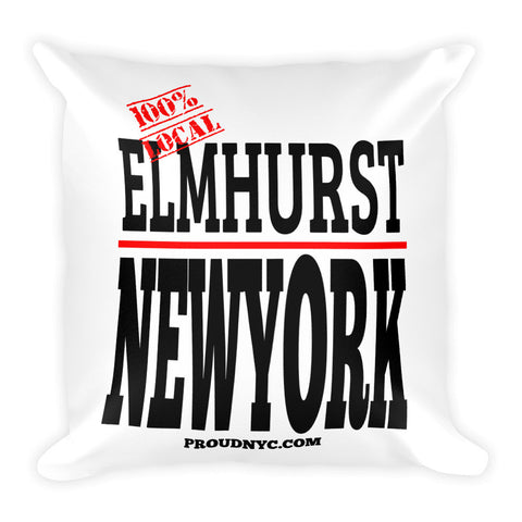 Elmhurst Local Square Pillow