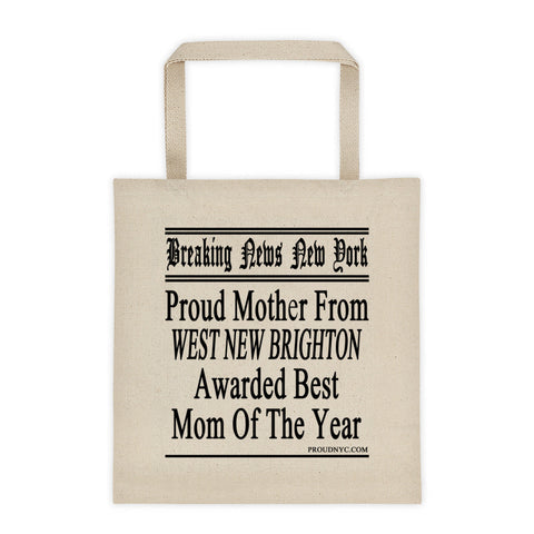 West New Brighton Best Mom Tote bag