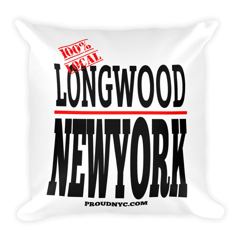 Longwood Local Square Pillow