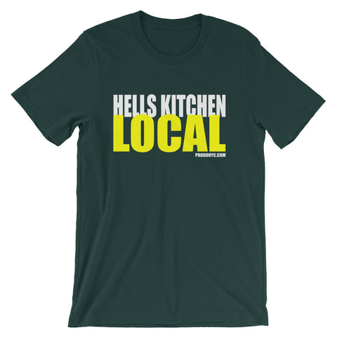 Hells Kitchen Local Unisex short sleeve t-shirt