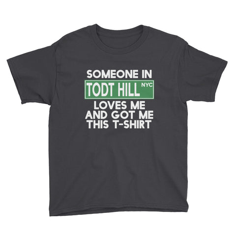Todt Hill Loves Me Youth Short Sleeve T-Shirt