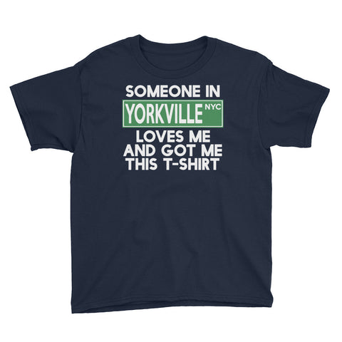 Yorkville Loves Me Youth Short Sleeve T-Shirt