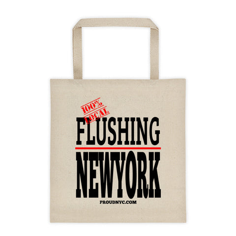 Flushing Local Tote bag