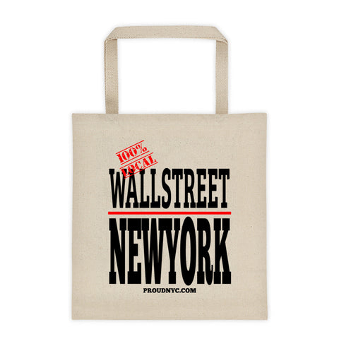Wall Street Local Tote bag