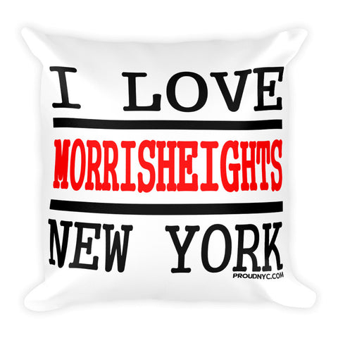 Morris Heights Love Square Pillow