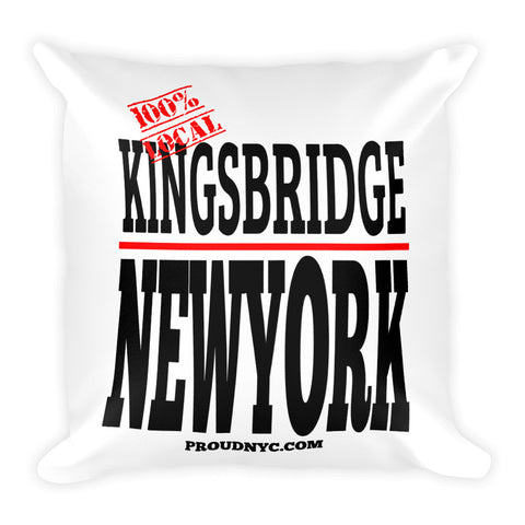Kingsbridge Local Square Pillow