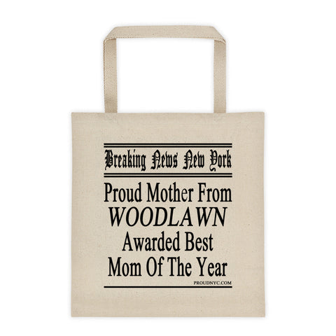 Woodlawn Best Mom Tote bag