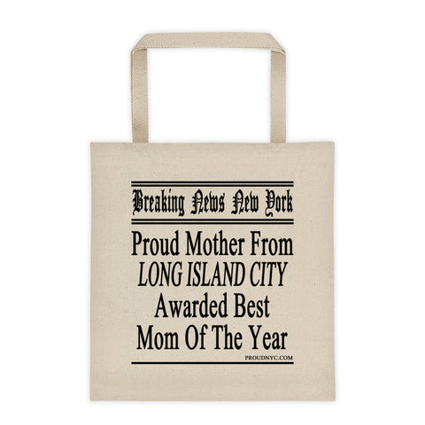 Long Island City Best Mom Tote bag