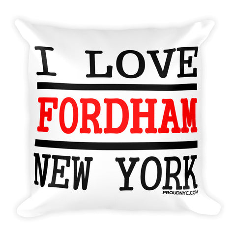 Fordham Love Square Pillow