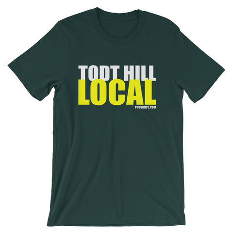 Todt Hill Local Unisex short sleeve t-shirt