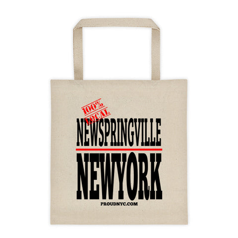 New Springville Local Tote bag