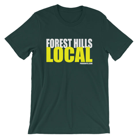 Forest Hills Local Unisex short sleeve t-shirt
