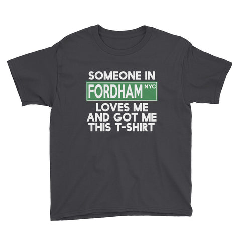 Fordham Loves Me Youth Short Sleeve T-Shirt