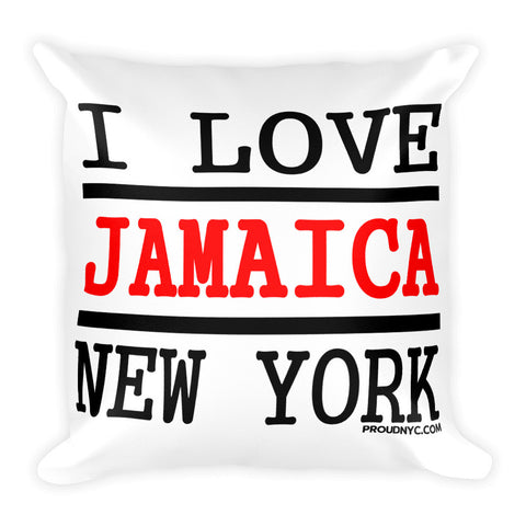 Jamaica Love Square Pillow