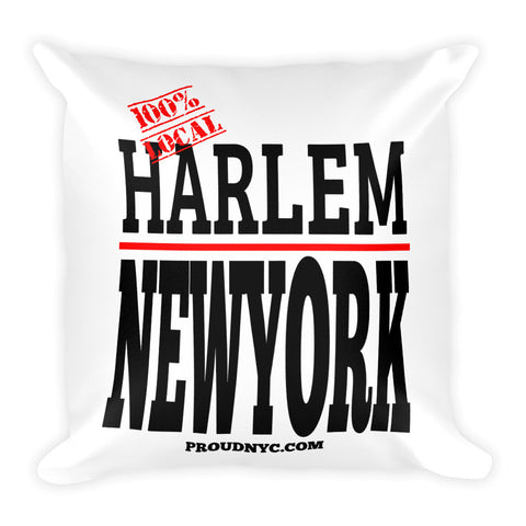 Harlem Local Square Pillow