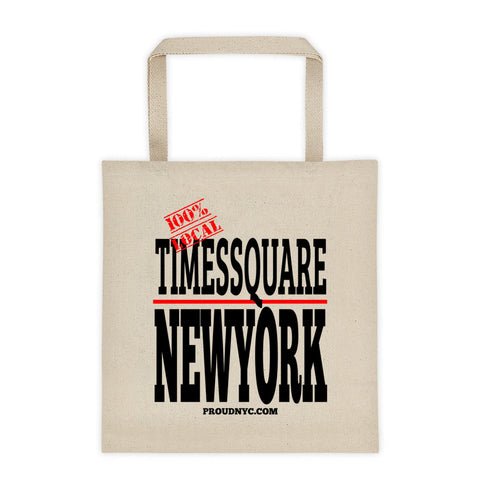 Times Square Local Tote bag