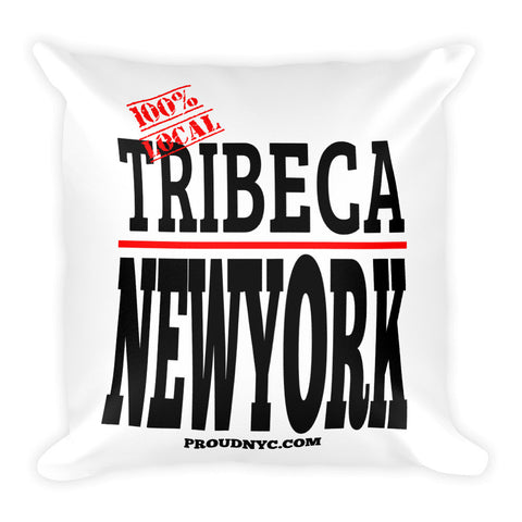 Tribeca Local Square Pillow