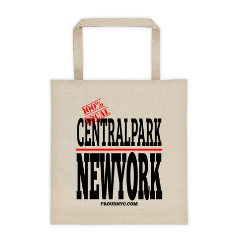 Central Park Local Tote bag