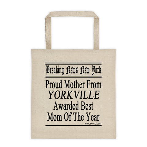 Yorkville Best Mom Tote bag