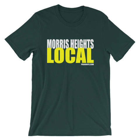 Morris Heights Local Unisex short sleeve t-shirt