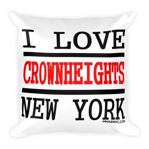 Crown Heights Love Square Pillow