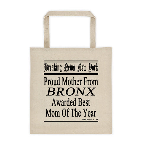 Bronx Best Mom Tote bag