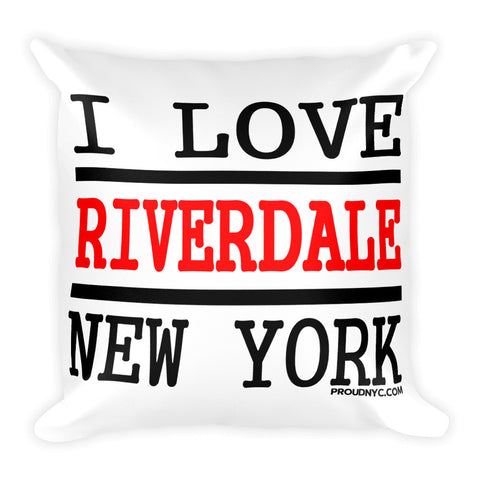 Riverdale Love Square Pillow