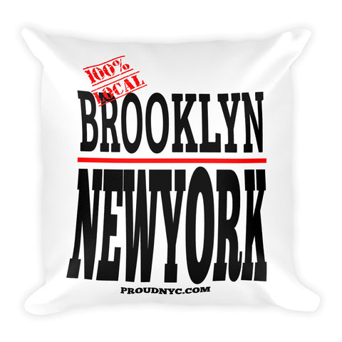 Brooklyn Local Square Pillow