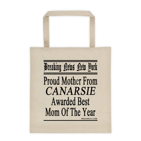 Canarsie Best Mom Tote bag