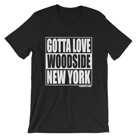 Woodside Gotta Love Unisex short sleeve t-shirt