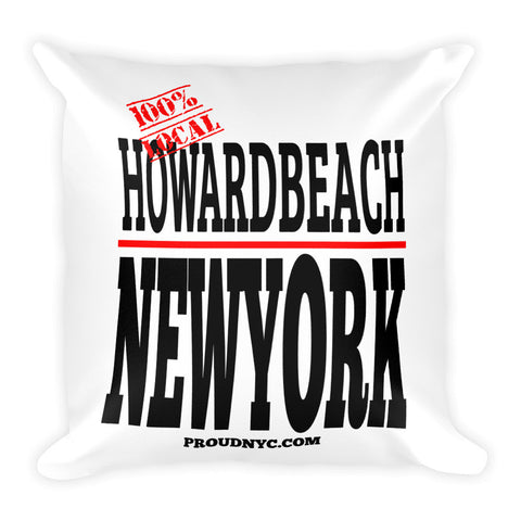 Howard Beach Local Square Pillow