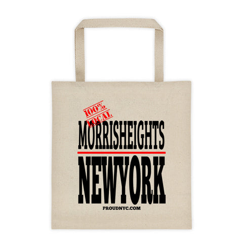 Morris Heights Local Tote bag