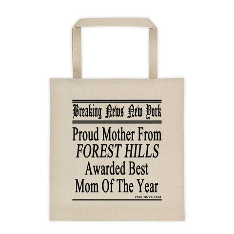 Forest Hills Best Mom Tote bag