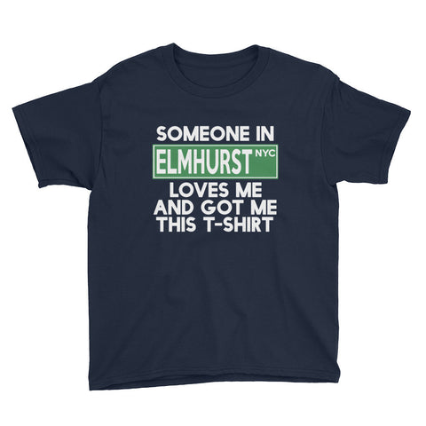 Elmhurst Loves Me Youth Short Sleeve T-Shirt