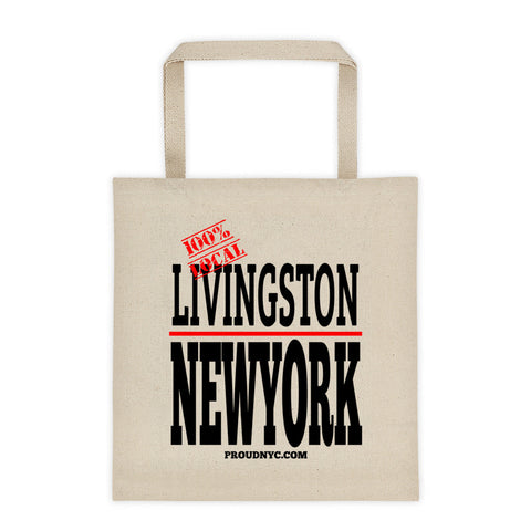 Livingston Local Tote bag