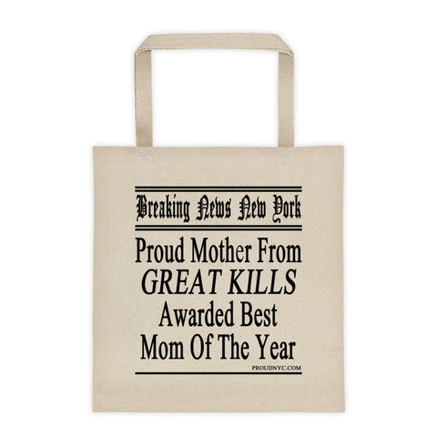 Great Kills Best Mom Tote bag