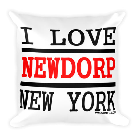 New Dorp Love Square Pillow