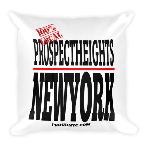 Prospect Heights Local Square Pillow