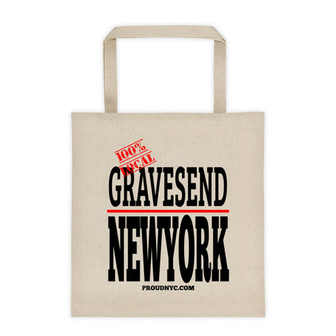 Gravesend Local Tote bag